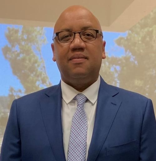 Merritt College President Dr. David M. Johnson