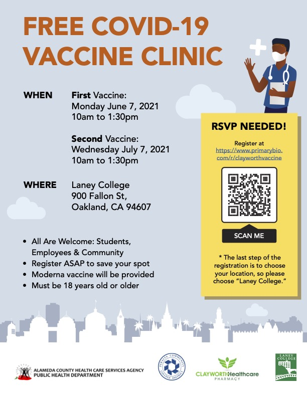 Free Covid Vaccine Clinic  copy