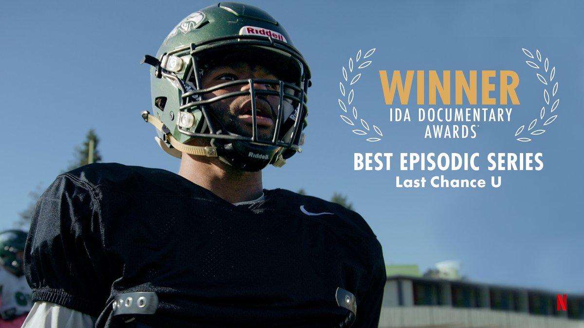 IDA Documentary Awards Winner Last Chance U Laney