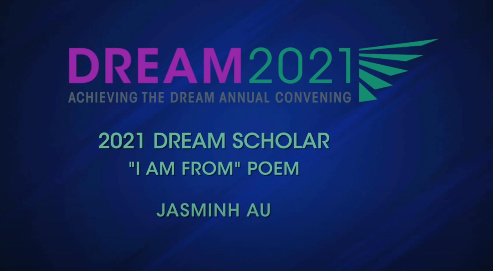 Jasminh Au I Am From Poem