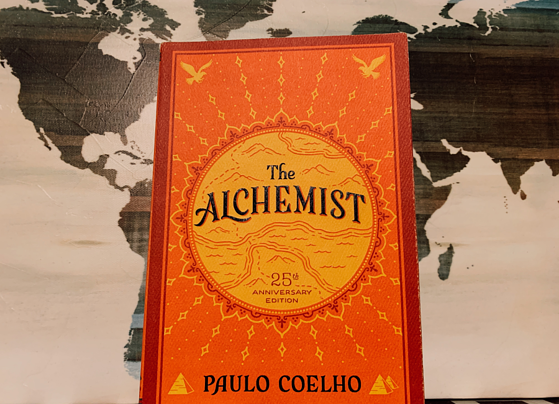 The Alchemist book cover