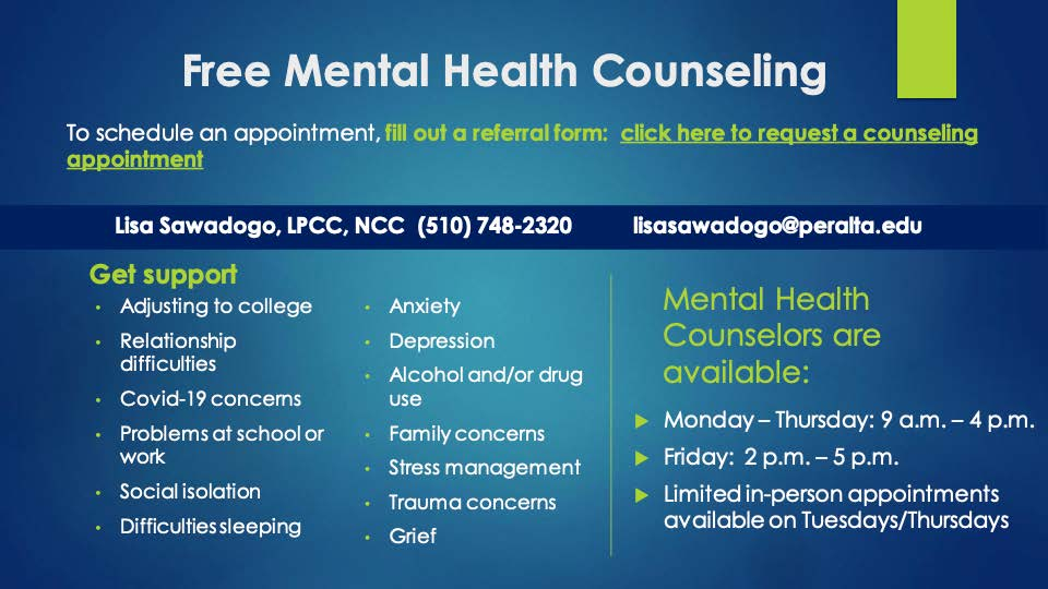 mental health councelling